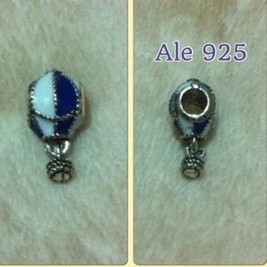 Balloon Air Ale 925 Stamped Charm Fit Pandora